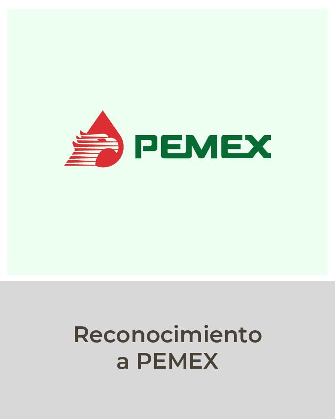 Reconocimiento pemex