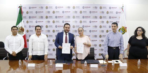Firman SEFIPLAN y CEDH convenio de coordinación para la capacitación de servidores públicos
