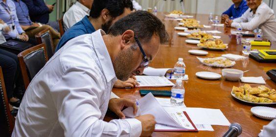 -SIOP, primera secretaría en firmar convenio de reconocimiento y pago de deuda al IPE.