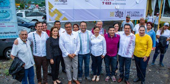 -SIOP inicia obras en Vega de Alatorre y San Rafael