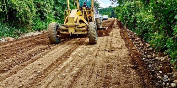 Avances de Construcción del Camino Huipanguillo