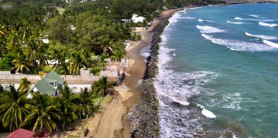 Avance de Protección Marginal Costera en Villa Rica