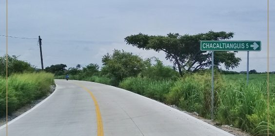 Avances de Pavimentación del Camino Chacaltianguis – Carlos A. Carrillo