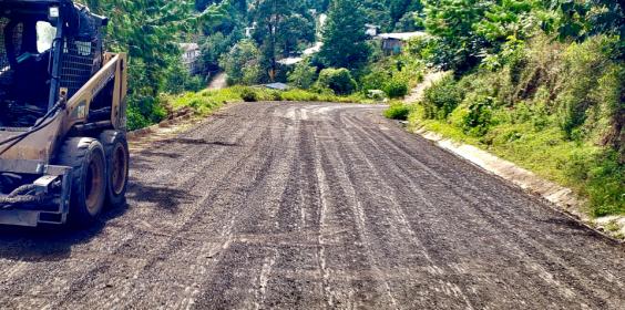 Continuación de la Construcción del Circuito Xonotla – Monterrey – Tlaltzala – Tlatilpa, en el municipio de Soledad Atzompa
