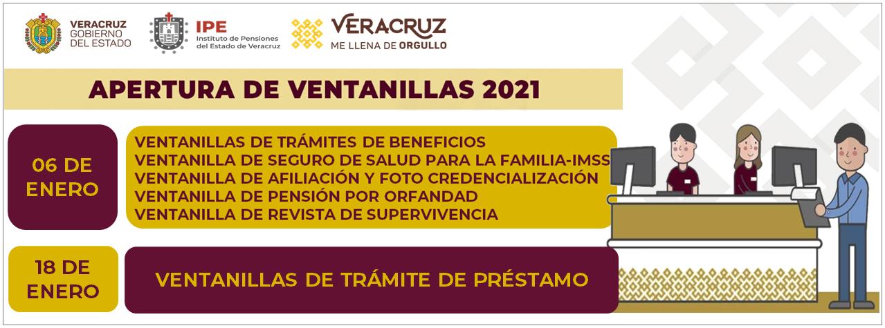 Apertura de Ventanillas 2021