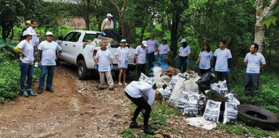 """Participa SEDEMA en campaña """"Limpiemos México"""", con 680 voluntarios"""