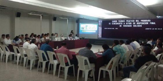 Capacita SEDEMA a municipios del sur sobre manejo adecuado de RSU