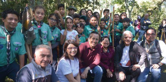 Recorre gobernador y SEDEMA parque Natura