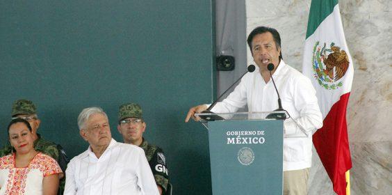 Visita del Presidente de México Andrés Manuel López Obrador a Minatitlán