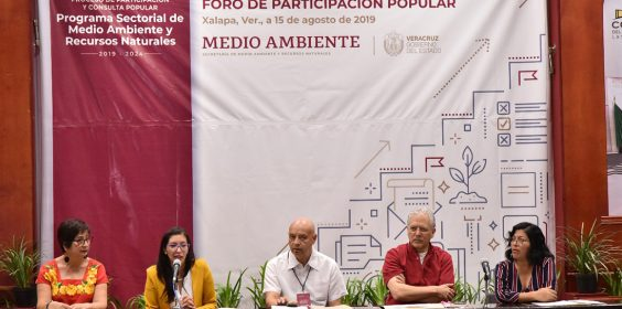 Xalapa sede del foro regional de Medio Ambiente y Recursos Naturales