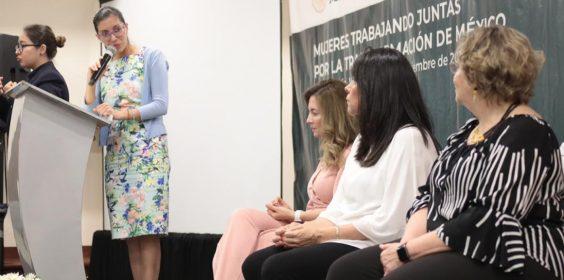 """Realizan PROGOB e IVM Foro """"Mujeres por la Transformación de México"""