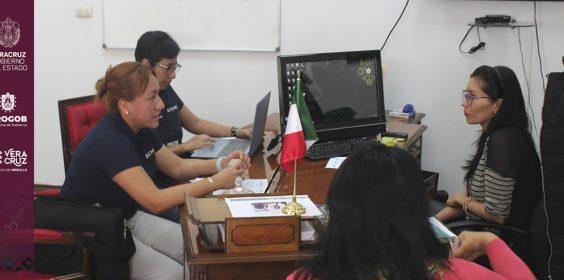 Reunión con representantes de la organización Échale