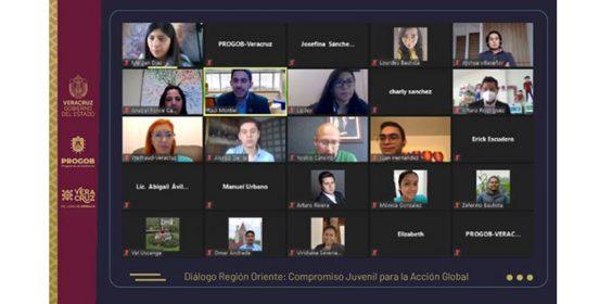 Participación en Diálogo Región Oriente de MY World México