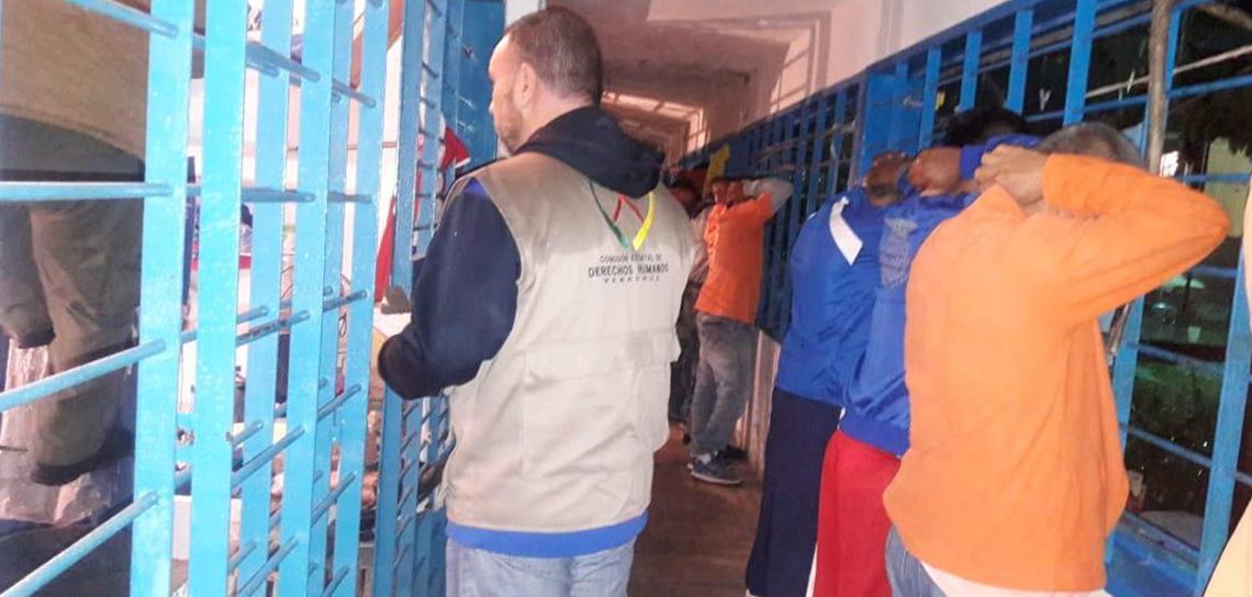 Implementa SSP operativo sorpresa en Centro Penitenciario de Tuxpan