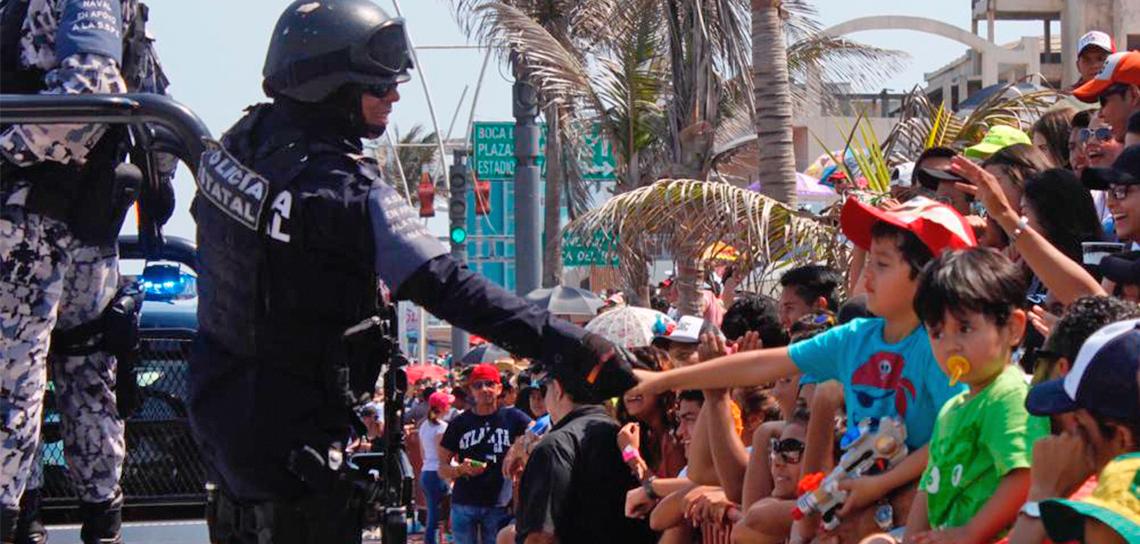 Garantiza SSP seguridad del Carnaval de Veracruz, con 427 elementos