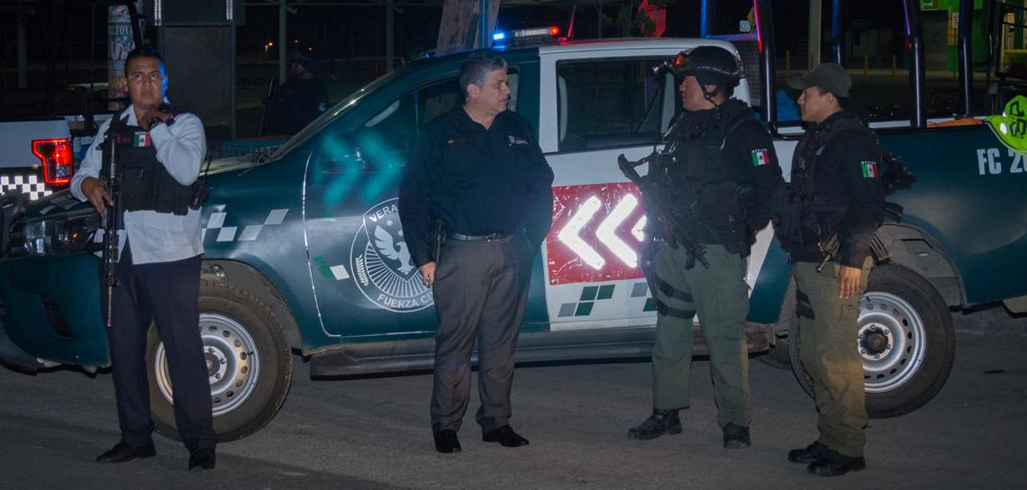 Realiza SSP Operativo de Unidades Móviles, en Xalapa