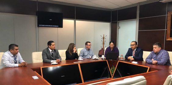Reunión con miembros de la Subsecretaría de Educación Media Superior y Superior de Veracruz (SEMSYS)