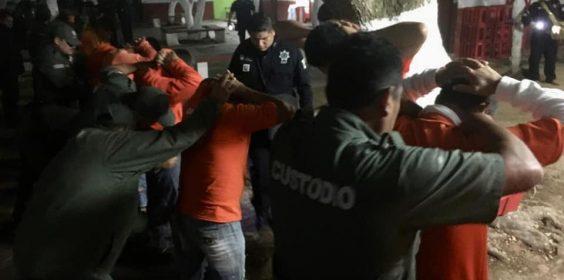 Realiza SSP revisión de rutina en Centro Penitenciario de Acayucan.