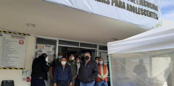 Como parte de las acciones de fortalecimiento de la reinserción social en Veracruz, este día visité la Dirección General de Ejecución de Medidas para Adolescentes, en la localidad de Palma Sola.