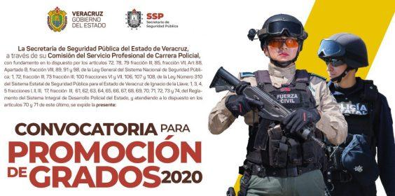 Convocatoria para promoción de grados 2020