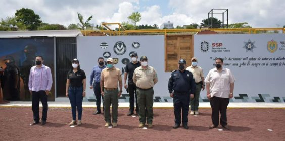 #SSPInforma: Inaugura SSP casa de intervención policial en Veracruz.