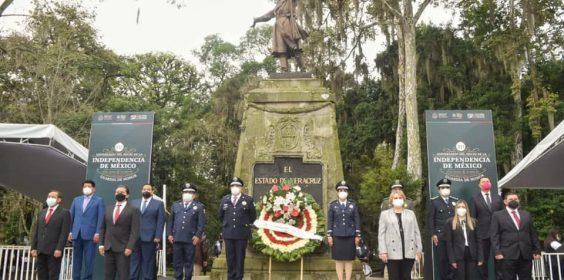 Homenaje a los Héroes de la Independencia de México