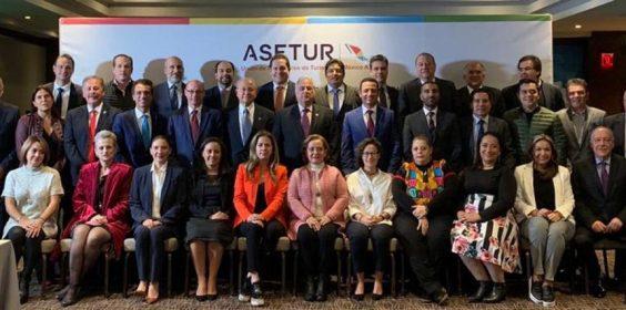 Participa SECTUR en XXI sesión ordinaria de ASETUR