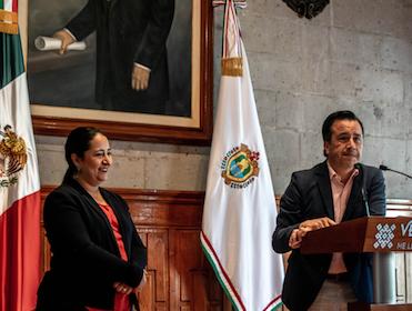 Rueda de prensa Cumbre Tajín Xalapa
