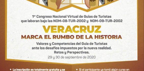 Primer Congreso Nacional Virtual de Guías de Turistas, un evento sin precedentes en el país: SECTUR