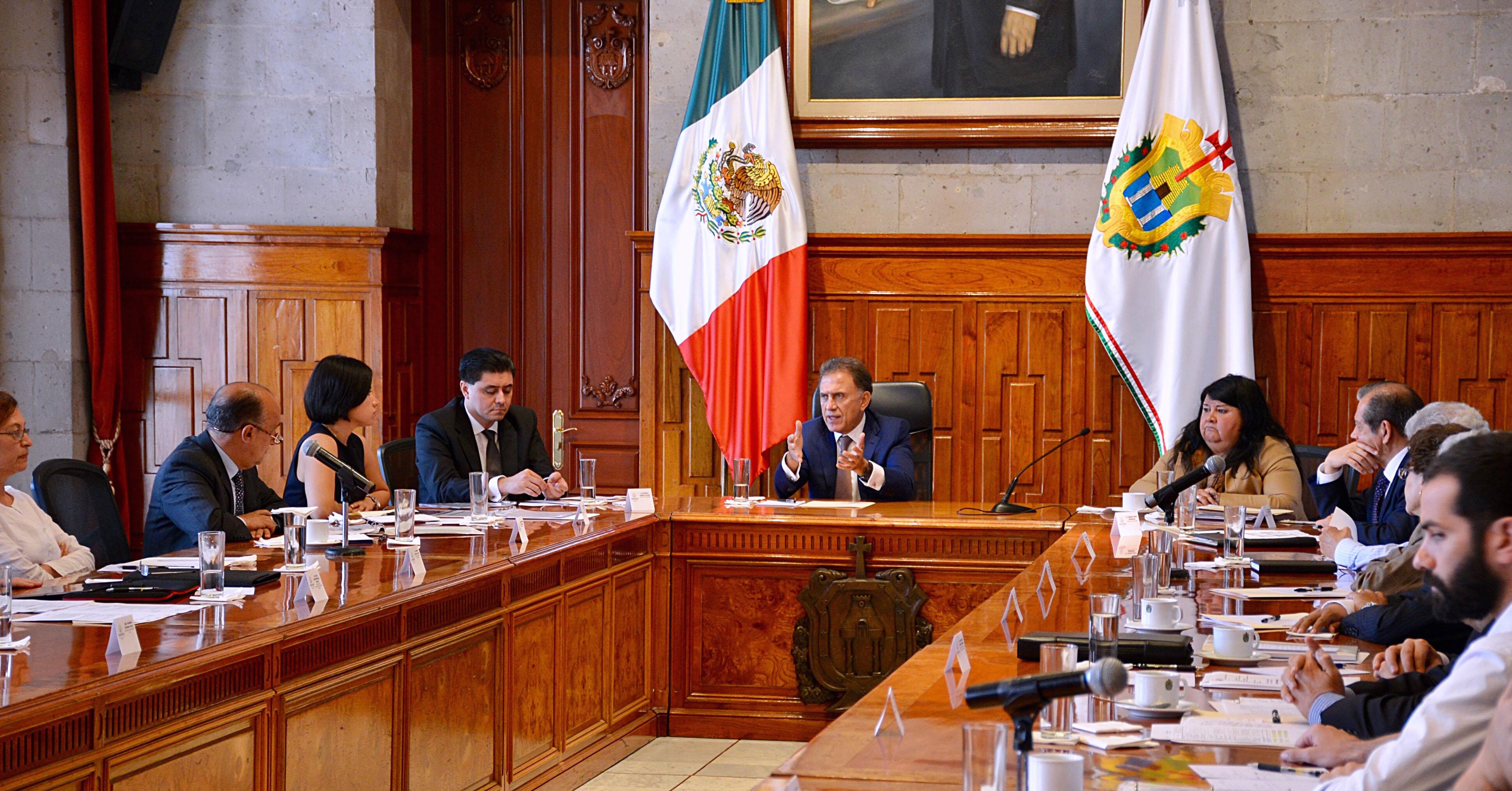 Mediante el diálogo con diputados, buscará el Gobernador Yunes ajustar presupuesto a la realidad de Veracruz