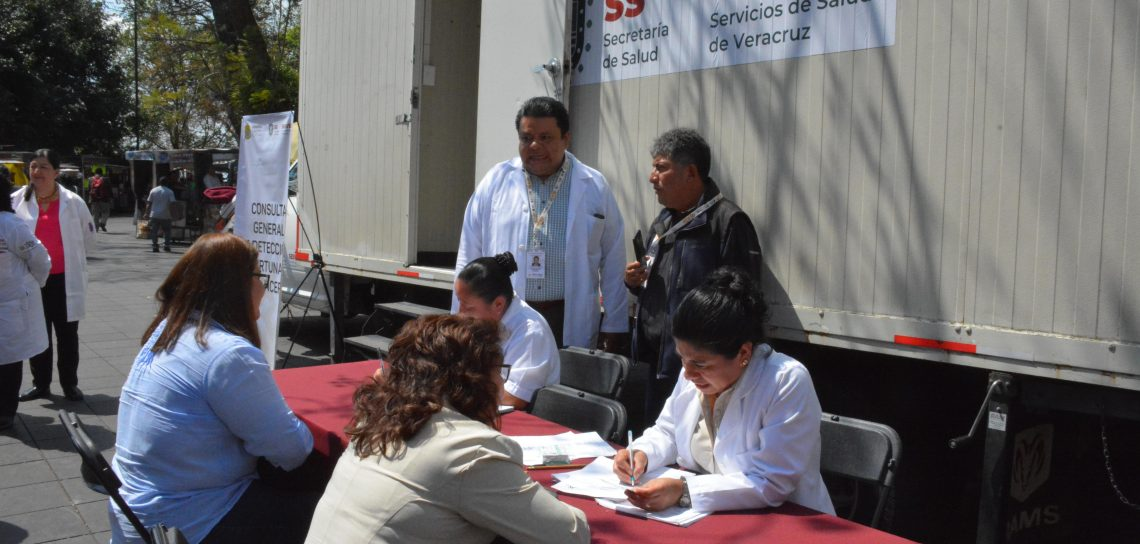 Instala Secretaría De Salud Módulos De Atención Para La
