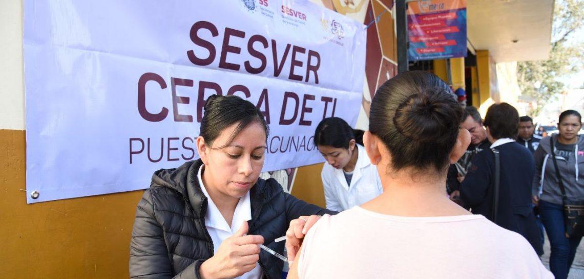 Gobierno De Veracruz Instala Módulos De Vacunación Contra La