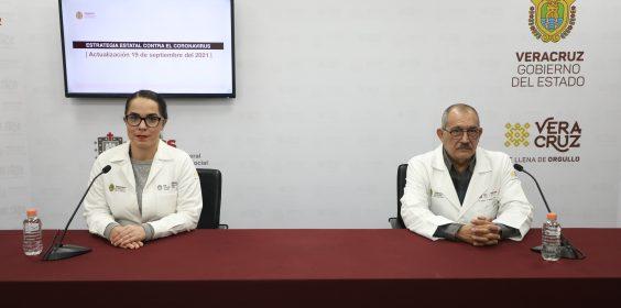 COMUNICADO | Estrategia Estatal contra el coronavirus 19/09/2021