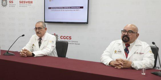 COMUNICADO | Estrategia Estatal contra el coronavirus 20/09/2021