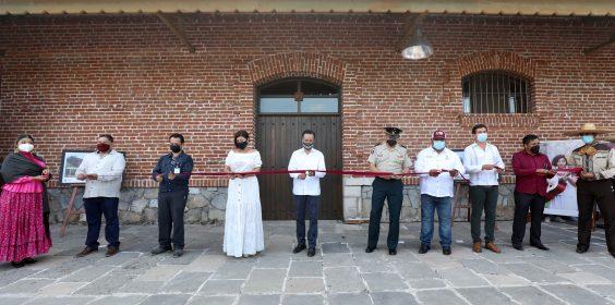 Inaugura gobernador Cuitláhuac García el Centro Cultural Purga
