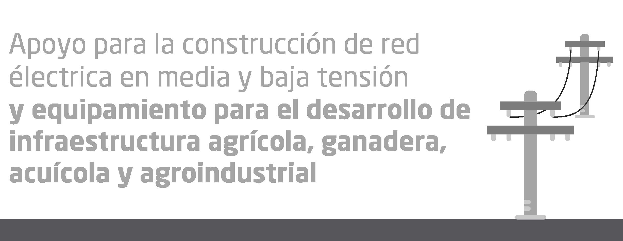 Apoyo Para la Contrucción de Red Electrica