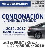 Condonación 2018