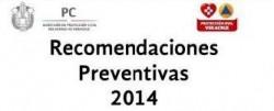 Recomendaciones Preventivas 2014